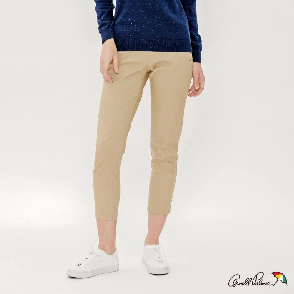 Arnold Palmer-女裝-彈性斜紋休閒褲-卡其色