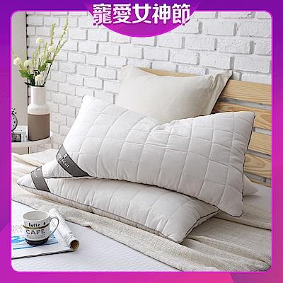 (售完不補)夢特嬌-抗菌防蹣枕 / 2入