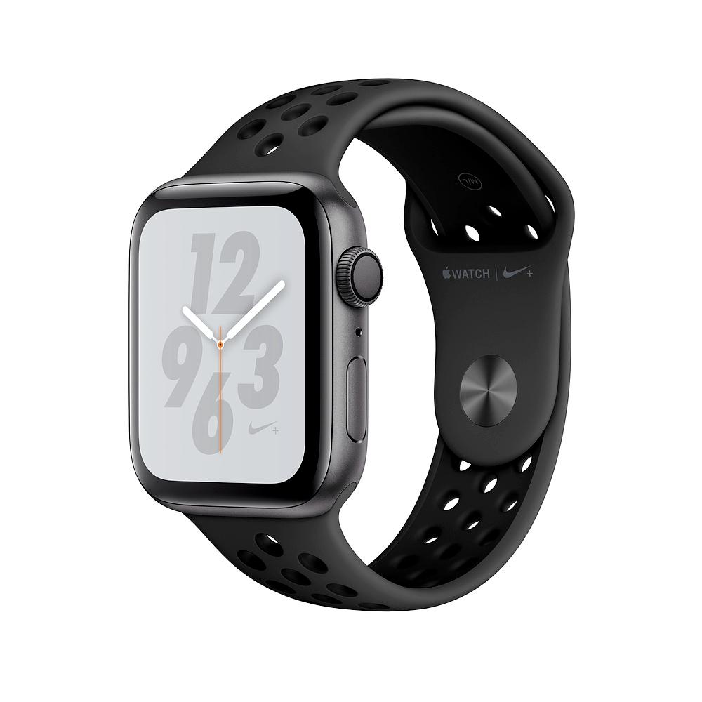 Apple Nike+S4 LTE 40mm 太空灰鋁金屬Anthracite黑色運動錶帶