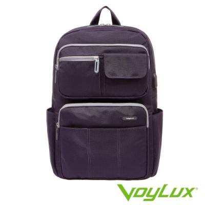 VoyLux 伯勒仕-Vantage系列電腦後背包-紫色3581017