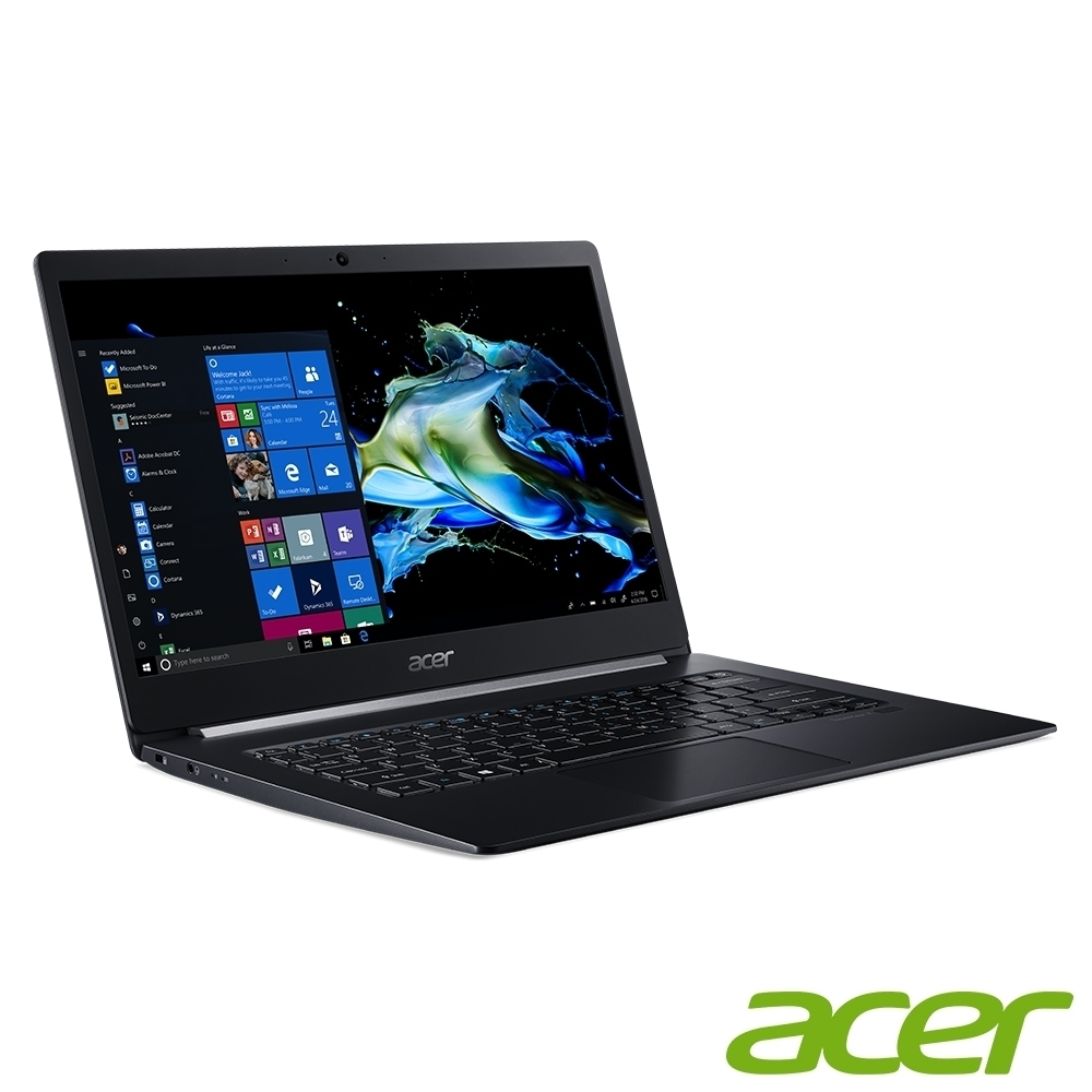 Acer TMX514-51-729W 14吋商用筆電(i7-8565U/16G/512G SSD/黑)