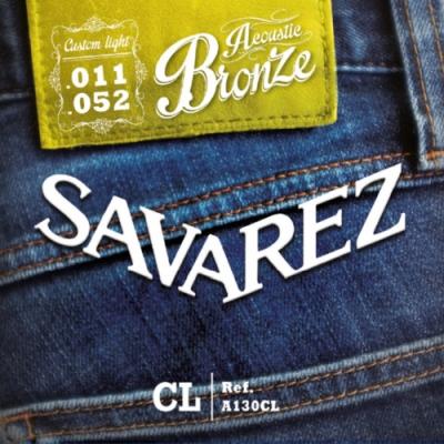 Savarez A130CL 黃銅民謠木吉他弦 11-52