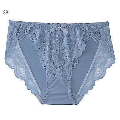 aimerfeel 花卉蕾絲性感內褲-珍珠藍-603722-SB