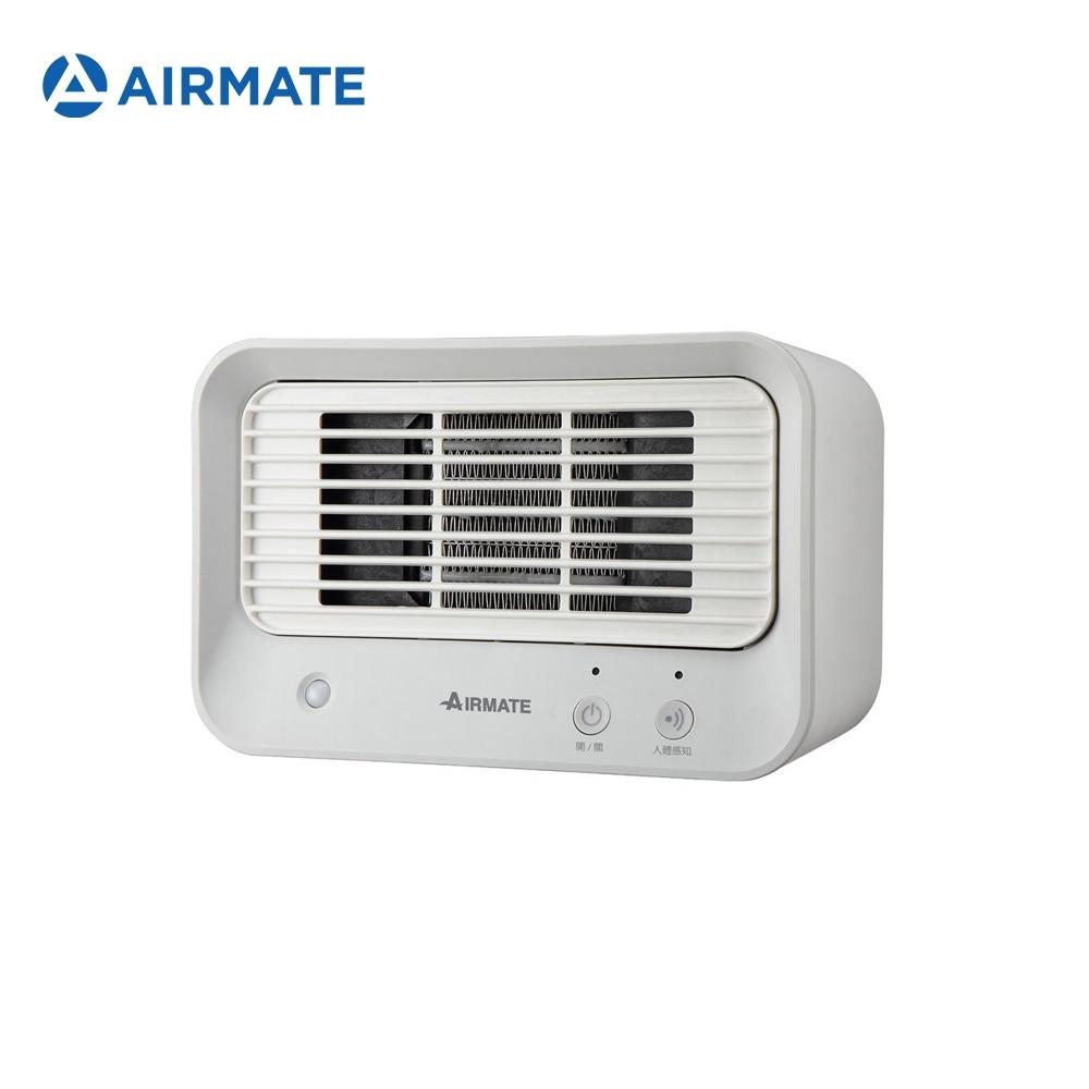 AIRMATE艾美特 人體感知美型陶瓷式電暖器 HP060M 灰白【24hr出貨】