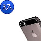iPhone 5/5s/SE 背膜 鋼化玻璃膜 防撞 防摔 透明 保護貼背膜-超值3入組