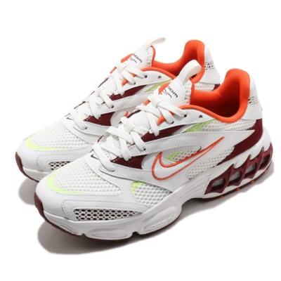 Nike 休閒鞋 Zoom Air Fire 運動 女鞋 氣墊 舒適 避震 簡約 球鞋 穿搭 白 紅 CW3876600