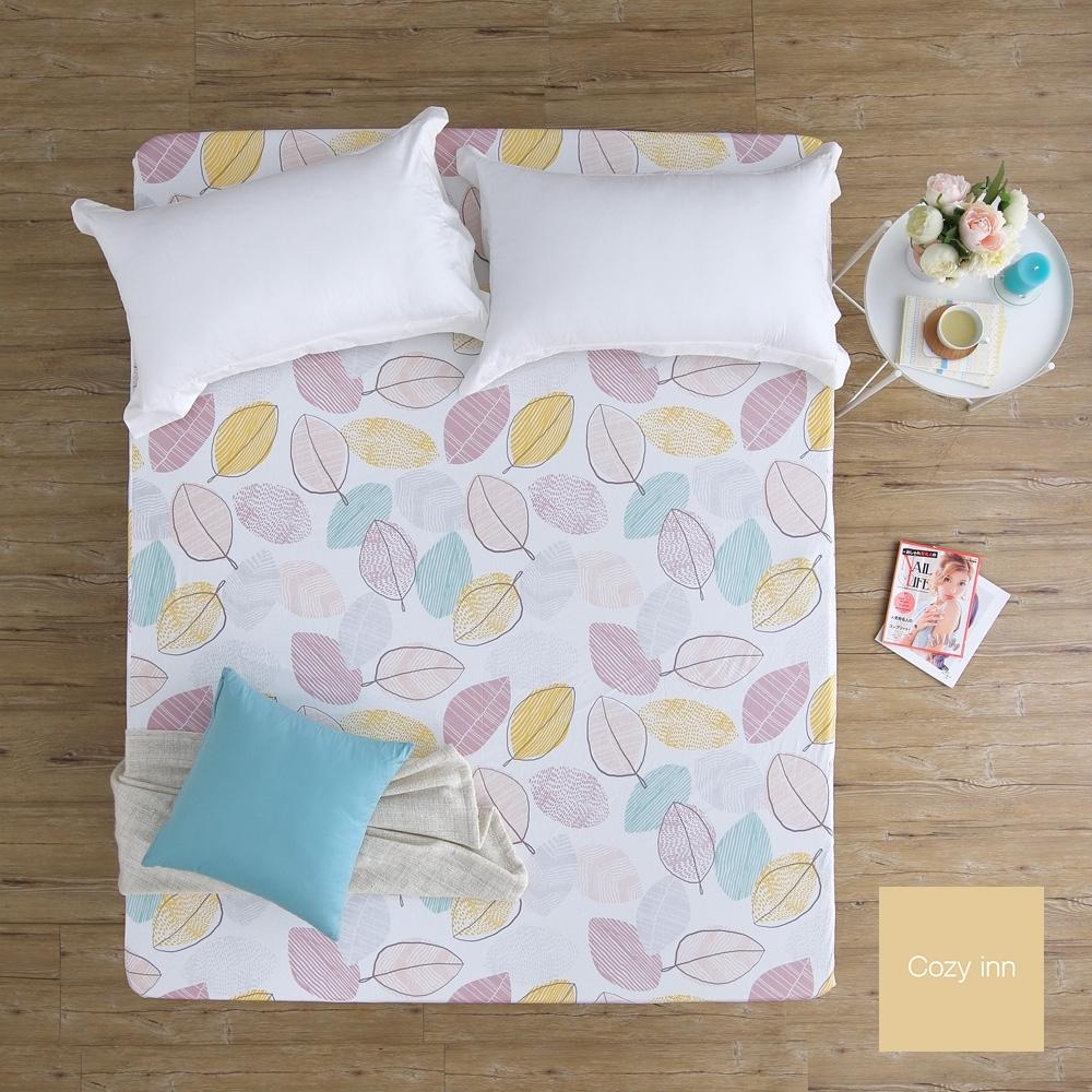 Cozy inn 彩葉-200織精梳棉床包(雙人)