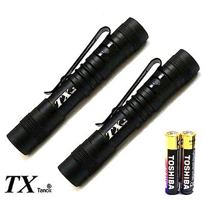 買一送一TX特林超迷你鋁合金強光筆型手電筒(T-MI307-2)