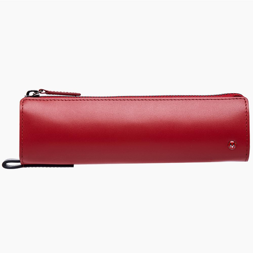 MONDAINE 瑞士國鐵經典牛皮筆袋-紅 @ Y!購物