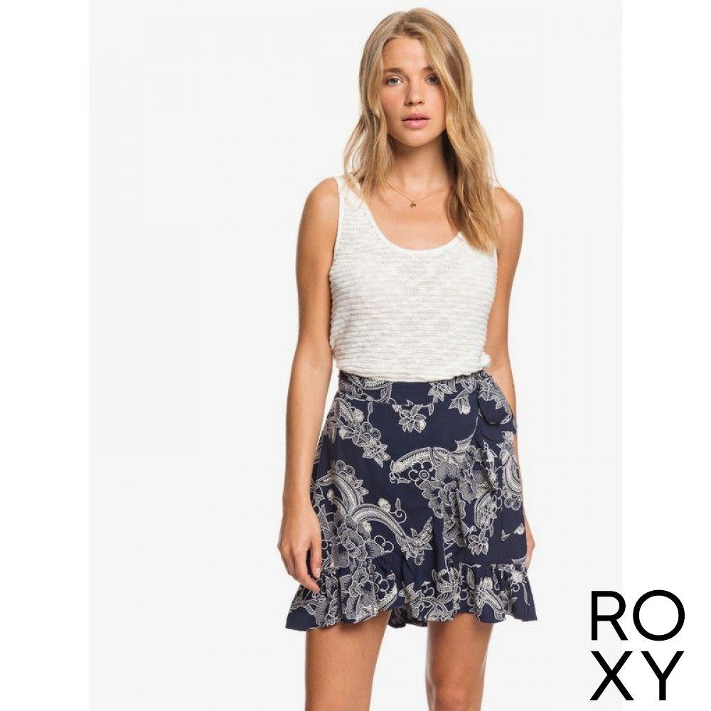 【ROXY】YELLOW HALO 短裙 海軍藍