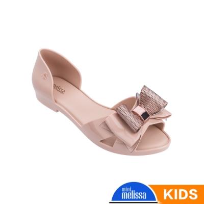 Melissa 蝴蝶結造型涼鞋(兒童款)-粉