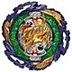任選戰鬥陀螺 BURST#185 滅絕魔龍_不含發射器 超王系列TAKARA TOMY product thumbnail 1