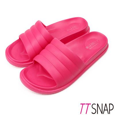 TTSNAP拖鞋-MIT輕量室內舒適居家拖鞋 桃