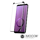 Mocoll - 3D 9H 鋼化玻璃膜 - 三星 Note 9 專用 ( 黑色 )