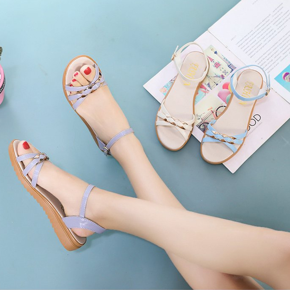 KEITH-WILL時尚鞋館-獨賣渡假氣息涼鞋(涼鞋/涼跟鞋)(共3色) (米白色)