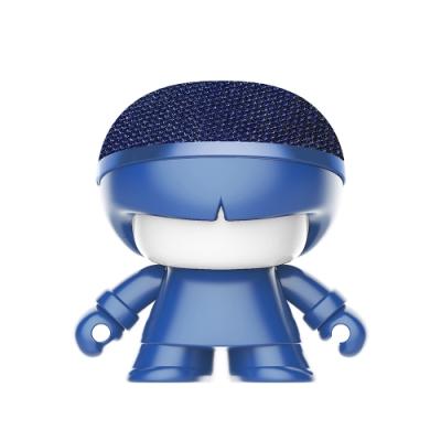 Xoopar Boy mini X3 迷你公仔造型藍芽喇叭-金屬藍
