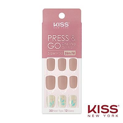 KISS New York-Press&Go指甲貼片-太妃奶茶(KPNS12K)