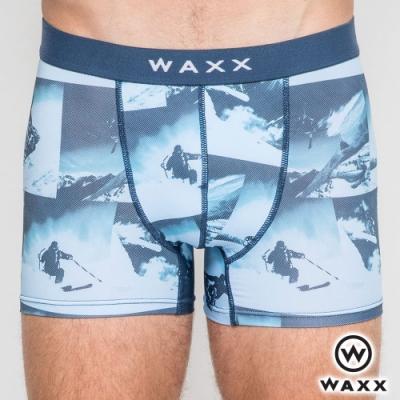 WAXX 滑雪高手-四面超彈性快乾四角男內褲