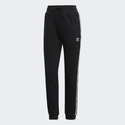 adidas 長褲 運動長褲 縮口褲 慢跑 健身 女款 黑 GD2255