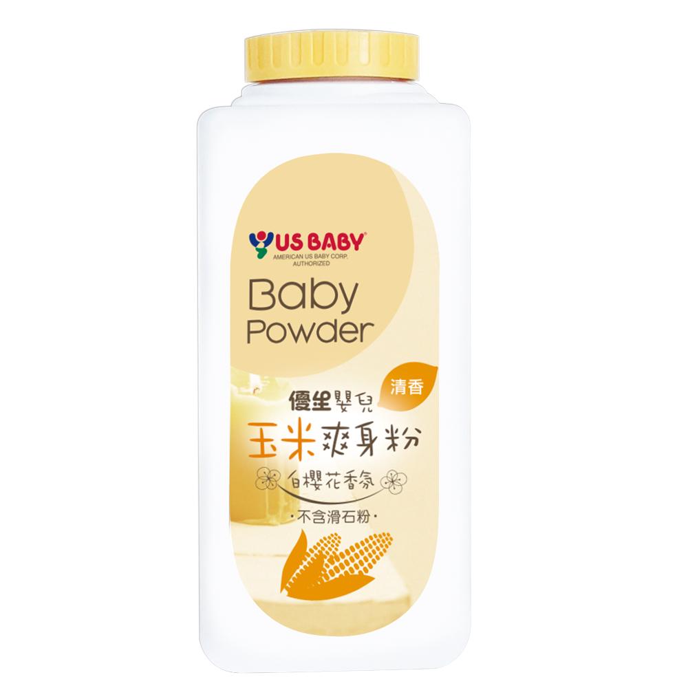 【優生】嬰兒玉米爽身粉-白櫻花香氛150g-任
