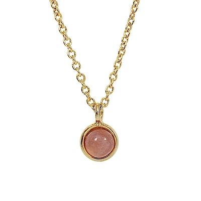 Prisme 美國時尚飾品 小巧紅色圓珠金色項鍊