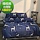 La lune 100%台灣製40支寬幅精梳純棉單人床包二件組 搖籃曲 product thumbnail 1
