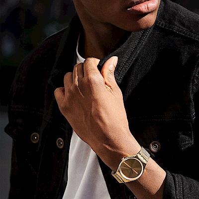 Swatch 超薄金屬系列 SKINLINGOT 耀眼金手錶