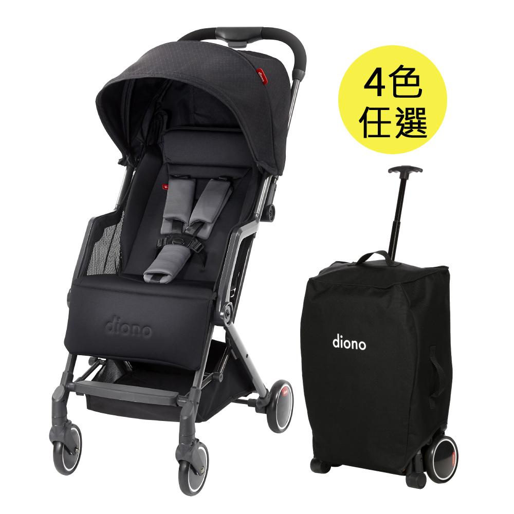 西雅圖 璀沃斯 Diono TT 車 - 輕便型行李式秒收嬰幼兒推車,4色任選