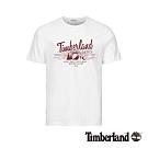 Timberland 男款白色1973圓領短袖T桖|A1W6A