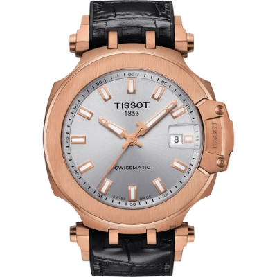 TISSOT 天梭 T-RACE SWISSMATIC 機械錶-45mm