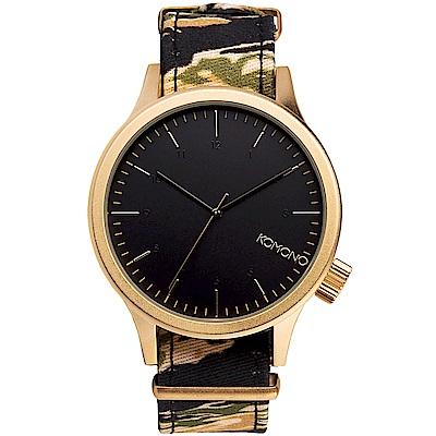 KOMONO Magnus Print 腕錶-虎斑迷彩/46mm