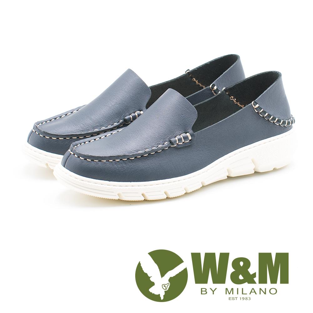 W&M 休閒舒適 百搭便鞋 女鞋-藍(另有灰、粉)