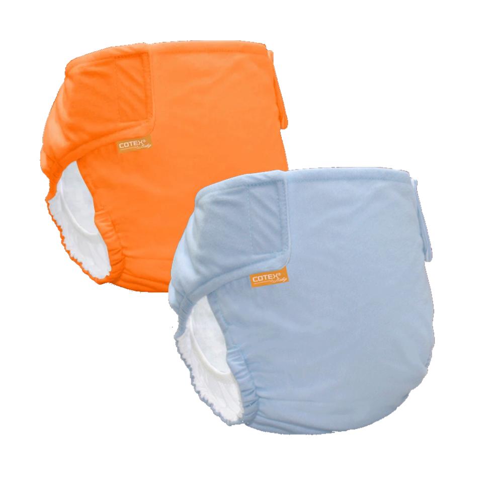 〔可透舒〕DB500無扣式單一尺寸布尿布2件組