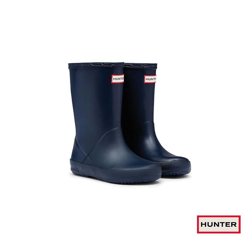 HUNTER - 童鞋 - Original小童經典霧面短靴 - 藍