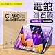 Apple iPad Pro 12.9吋(2021) 9H抗藍光鋼化玻璃保護貼 防指紋防爆 平板玻璃貼 product thumbnail 1