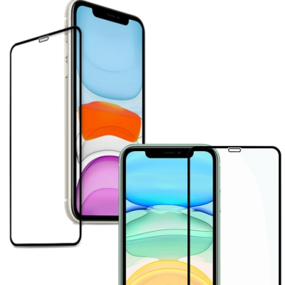TOTOMO  Apple iPhone12Pro  (6.1吋)滿版玻璃貼-黑框好滑版