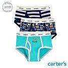 Carter's台灣總代理 挖土汽車3件組三角褲