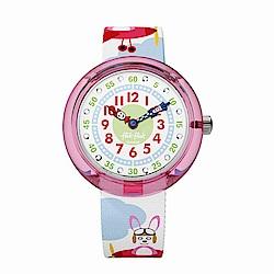 FlikFlak 兒童錶 HOPP ON A PLANE 飛兔森林手錶