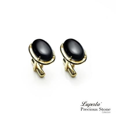 大東山珠寶 極簡黑 仕紳系列 黑瑪瑙  西裝領徽 袖扣