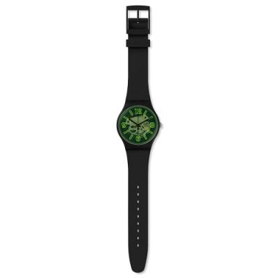 Swatch Bau 包浩斯系列手錶 YELLOWBOOST 就是搶眼-黃