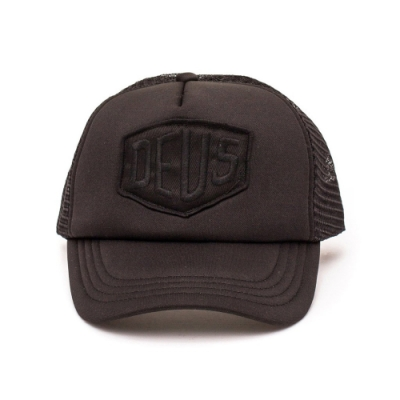 Deus Ex Machina  Baylands Trucker棒球帽 -(黑)