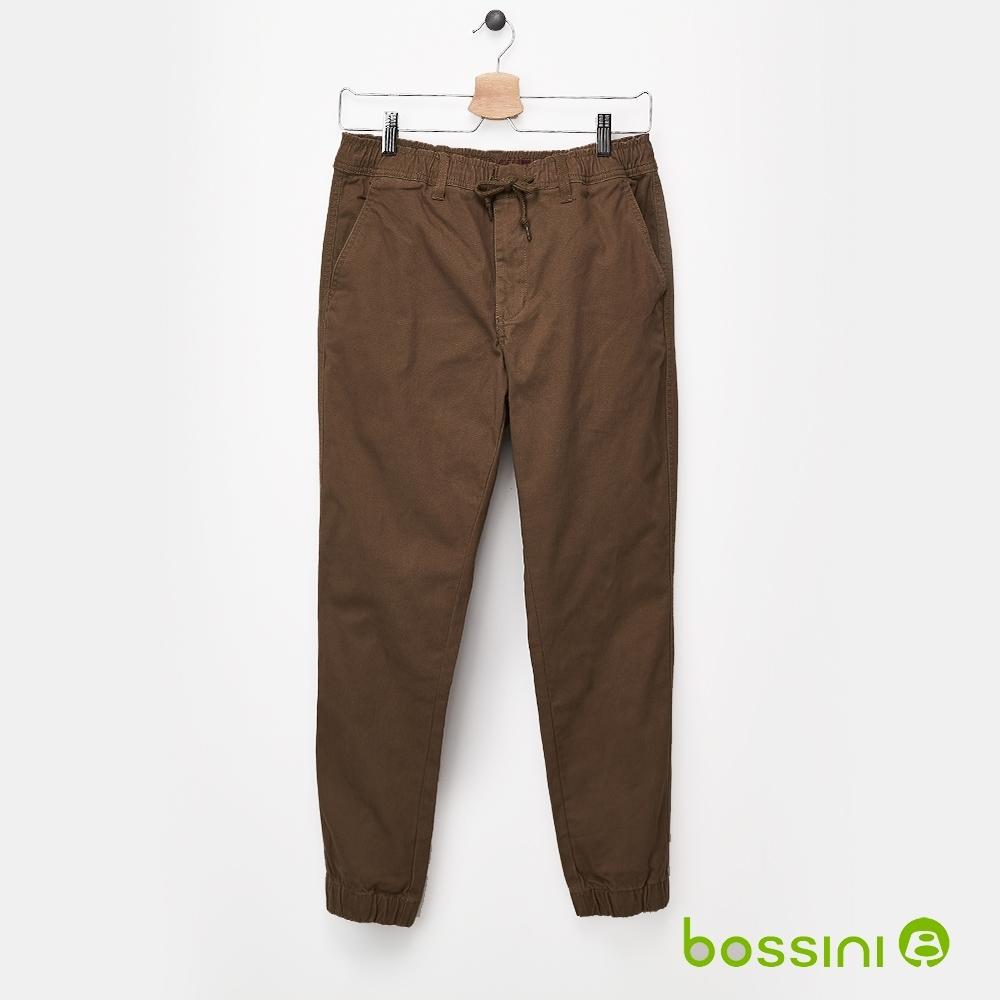 bossini男裝-保暖束口褲(內磨毛)02卡其