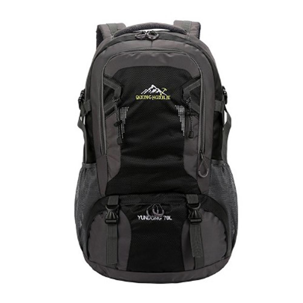 MY2204BK巨石70L肩背包登山包旅行包黑色