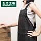 【週年慶倒數↗全館限時8折起-生活工場】YUMMY H型圍裙-黑色 product thumbnail 1