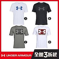 【UNDER ARMOUR】男 T-Shirt(4款任選)