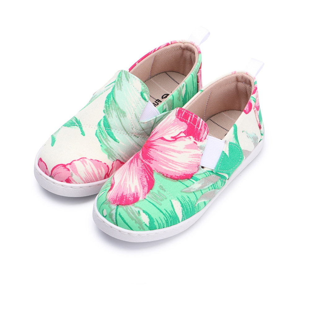 BuyGlasses 風花雪月輕著兒童懶人鞋-米