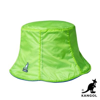 KANGOL-SEE ALL 雙面漁夫帽 - 蘋果綠