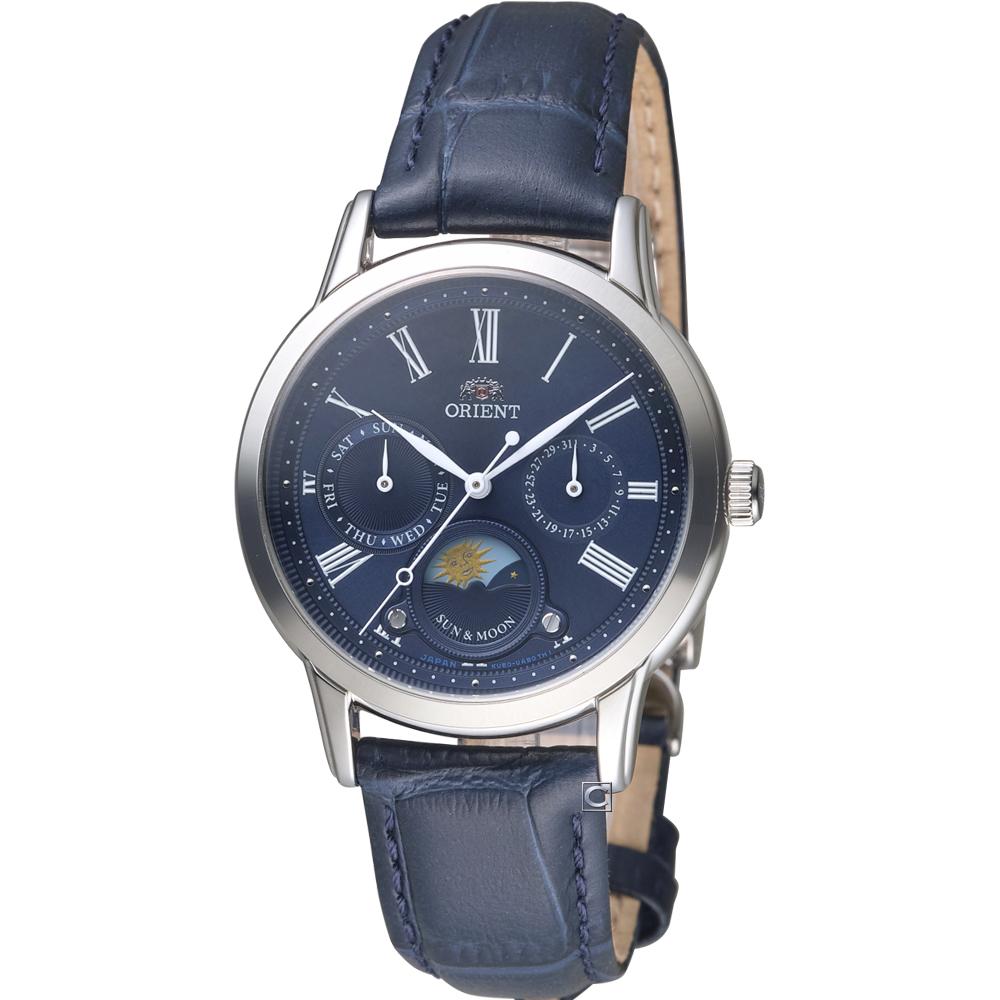 ORIENT東方錶日月星辰時尚錶(RA-KA0004L)