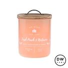 DW HOME 美國香氛 農園系列 清新杏桃 原木蓋玻璃罐 240g