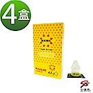 金德恩 狼牙型超粗顆粒3D立體浮點樂趣衛生套4盒(12入/盒)